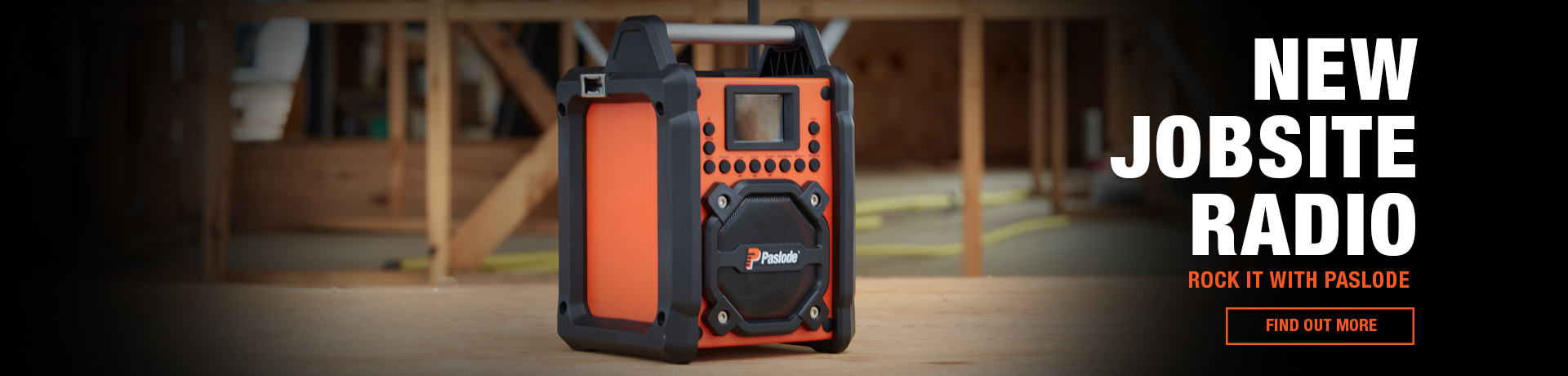 Paslode Jobsite Radio